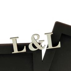 Dvojrámik s iniciálmi - náhľad 2