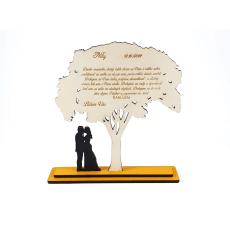 Poďakovanie rodičom - strom - náhľad