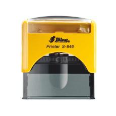 Pečiatka S-846 žltá