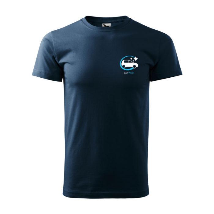 Pánske tričko BASIC s potlačou