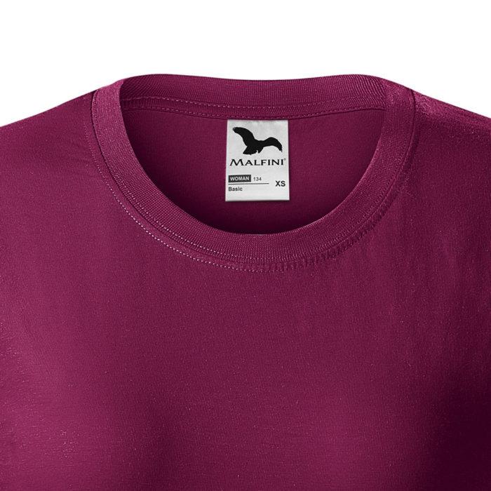 Dámske tričko BASIC detail