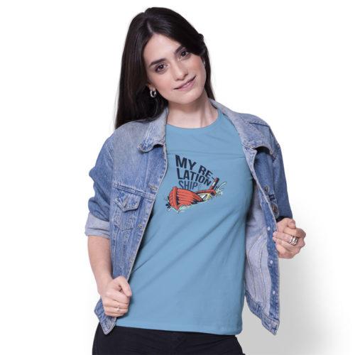 Dámske tričko MY RELATIONSHIP model