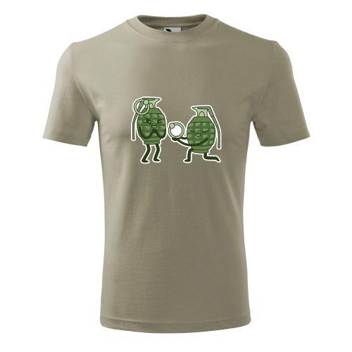 pánske tričko s potlačou GRANÁTY