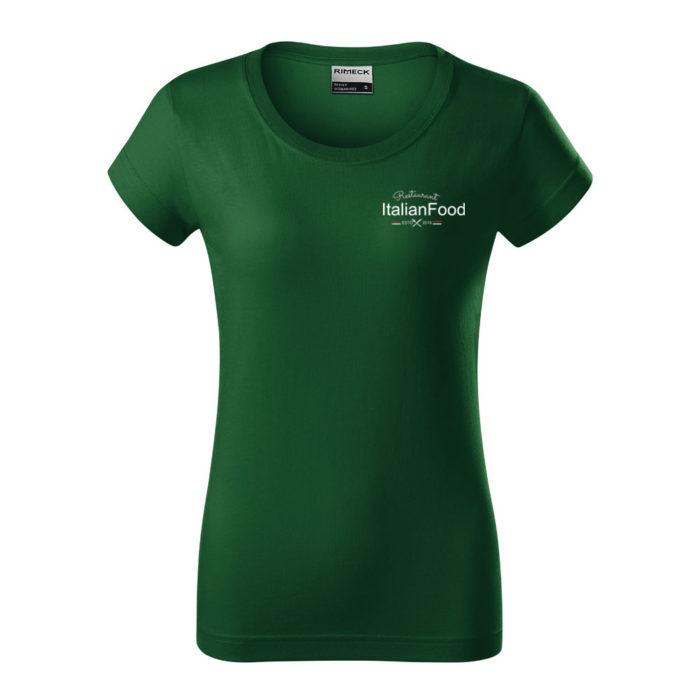 Dámske tričko RESIST HEAVY s potlačou