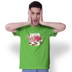 Tričko ROZUM A SRDCE na modelovi