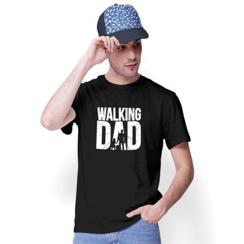 Pánske tričko WALKING DAD na modelovi