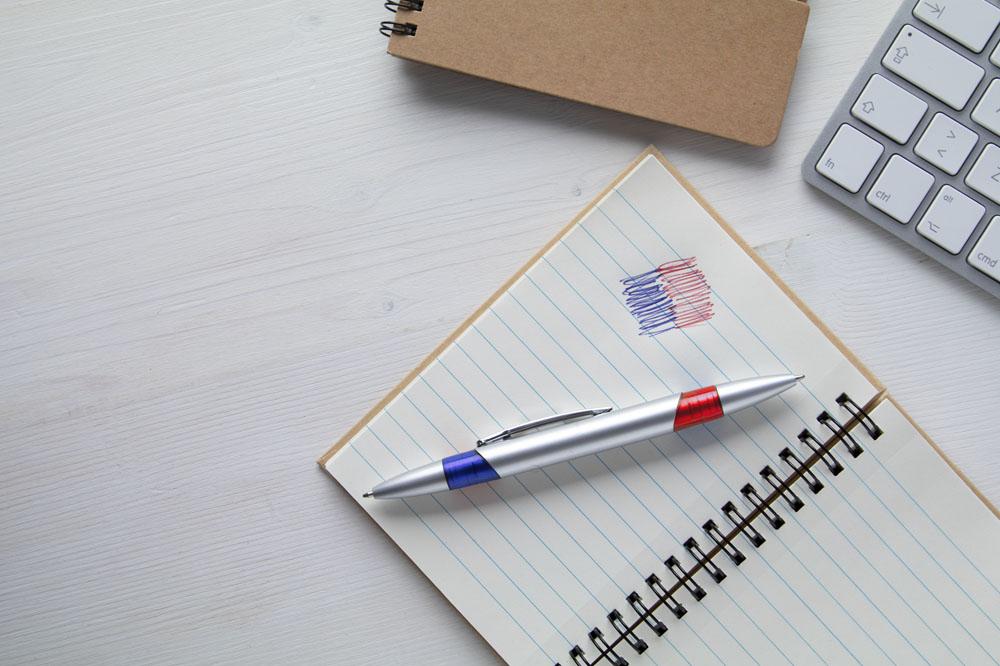 2 POLES guľočkové pero