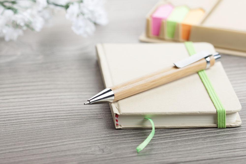 BASHANIA guľôčkové bambusové pero