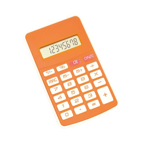 RESULT kalkulačka oranžová