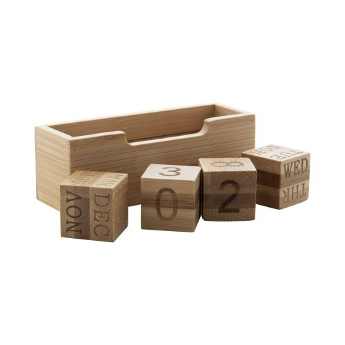 večný kalendár z bambusu ROLBUS