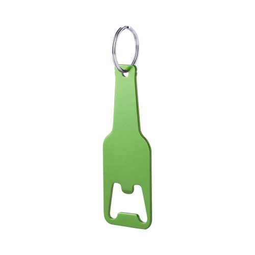 CLEVON prívesok na kľúče zelený