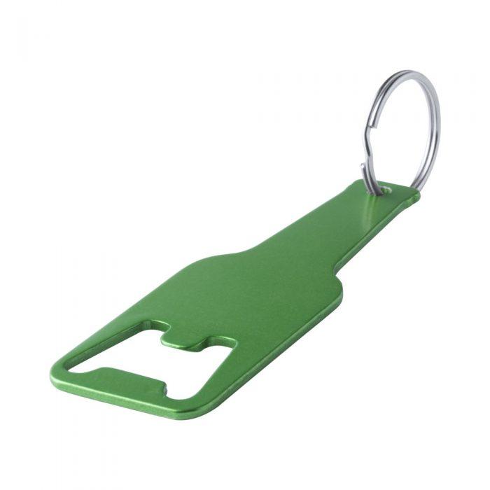 CLEVON zelený prívesok na kľúče