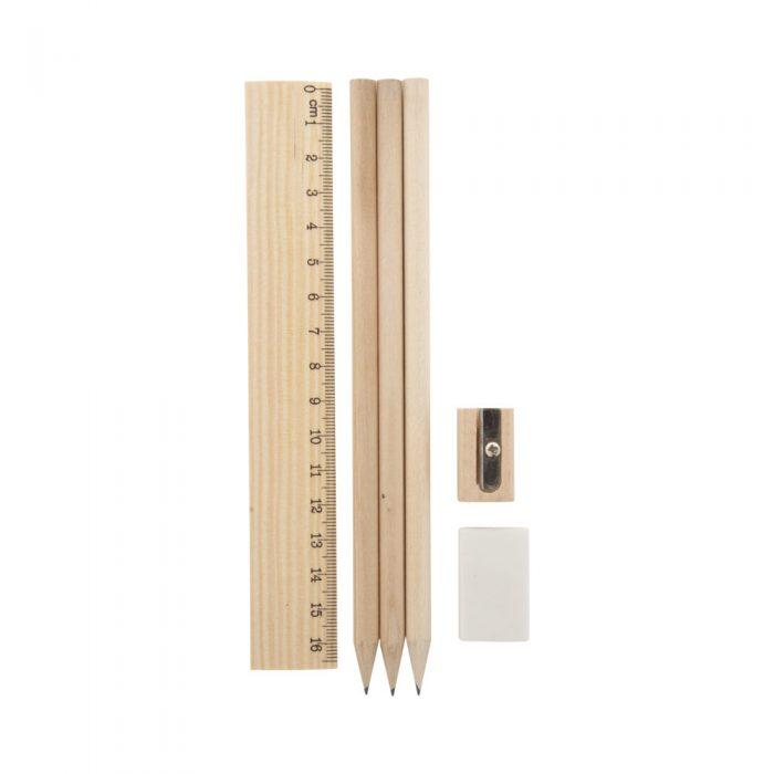 DONY set ceruziek prírodná