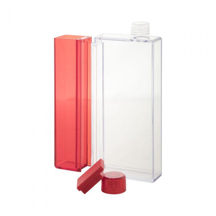 FLISK fľaška červená plastová