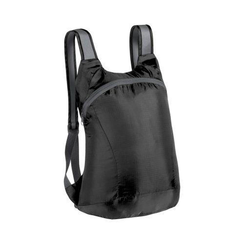 skladací batoh LEDOR čierny