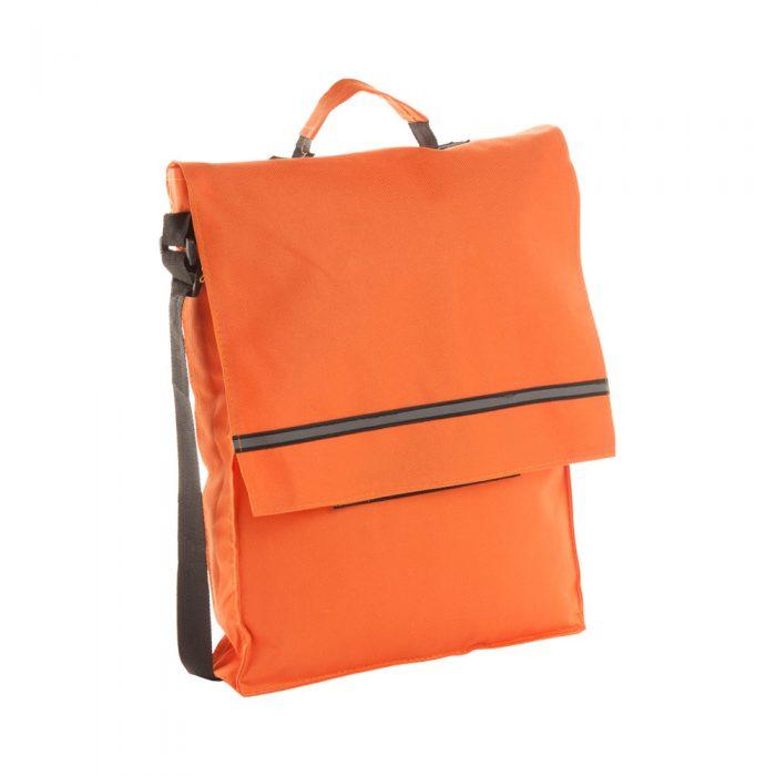 taška cez rameno MILAN oranžová