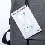 MORDUX antibakteriálny batoh vysačka