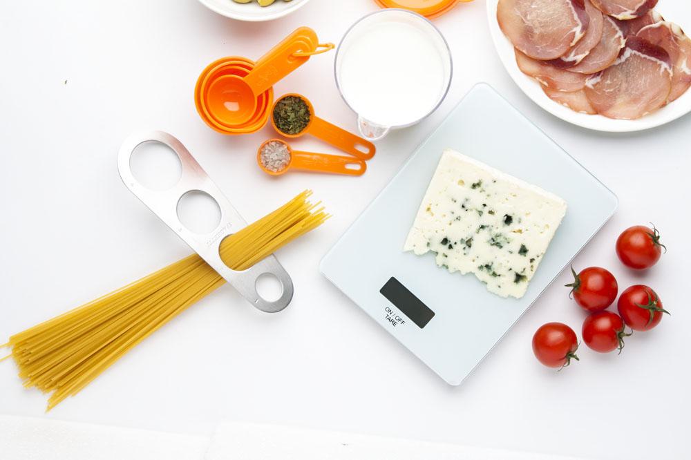 MOUSSE kuchynská váha biela