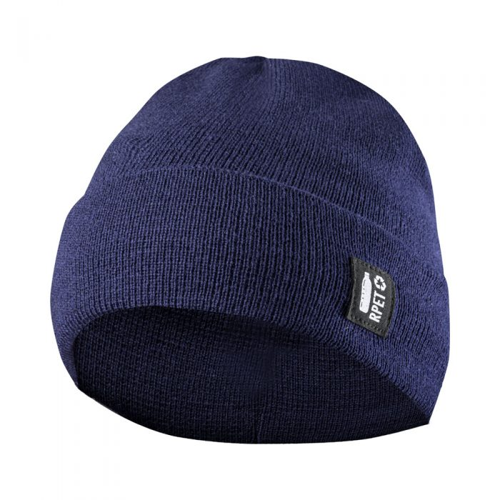 HETUL RPET zimná čiapka tmavo modrá