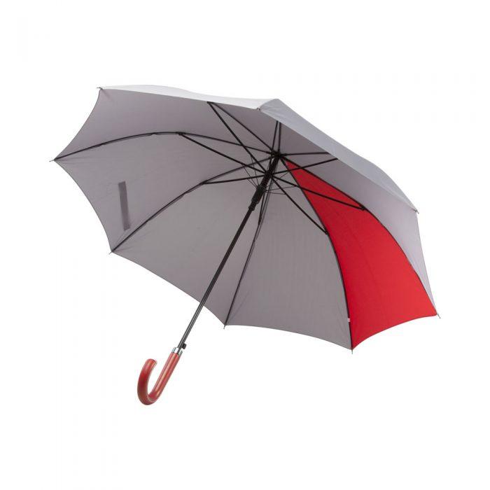 červený dáždnik STRATUS