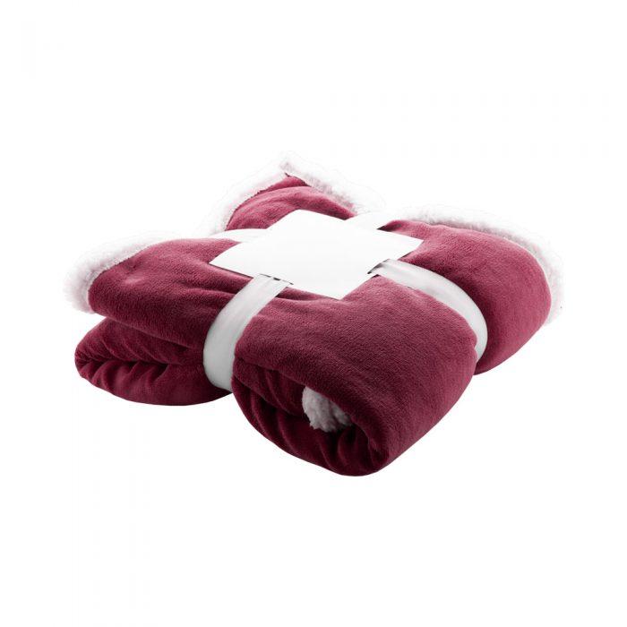 SAMMIA fleecová deka červená