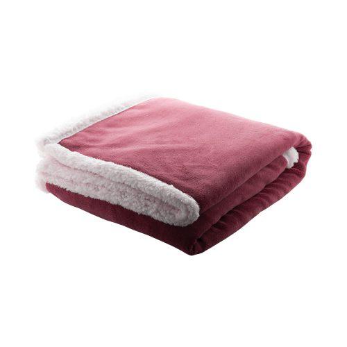 SAMMIA červená fleecová deka