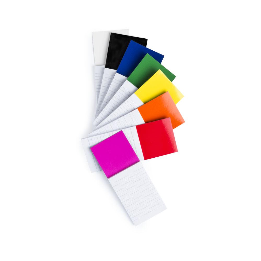 SYLOX blok s magnetkou farebný