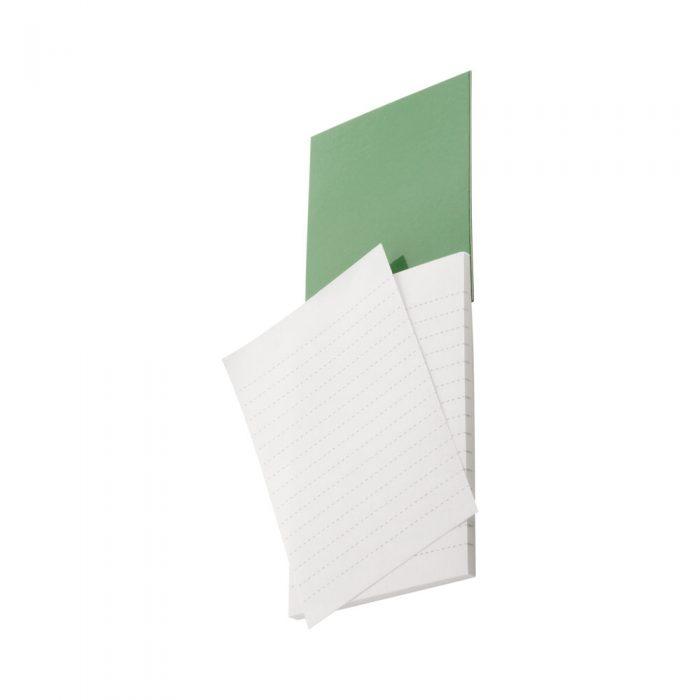 zelený SYLOX blok s magnetkou