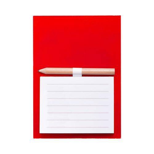 YAKARI blok s magnetkou červený