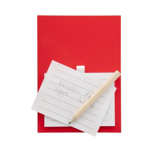 YAKARI červený blok s magnetkou
