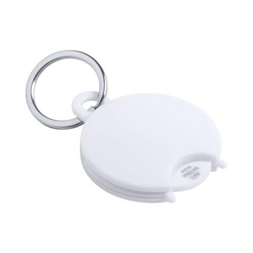 antibakteriálny privesok na kľúče so žetónom PORTIS