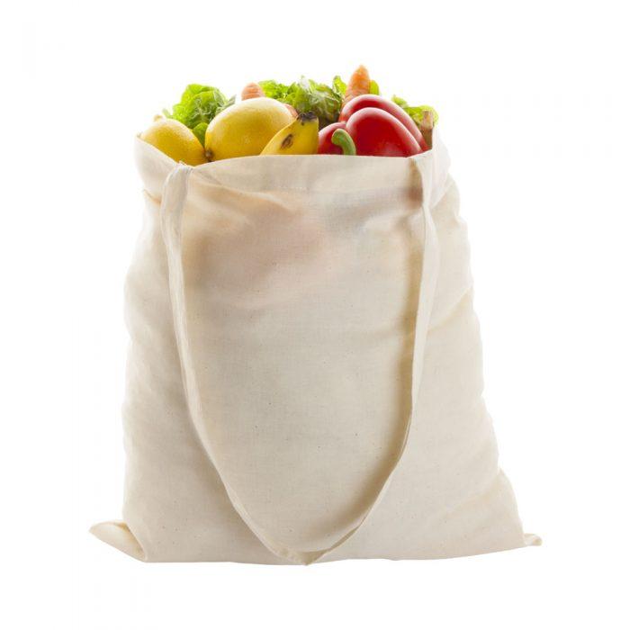 LONGISH bavlnená nákupná taška