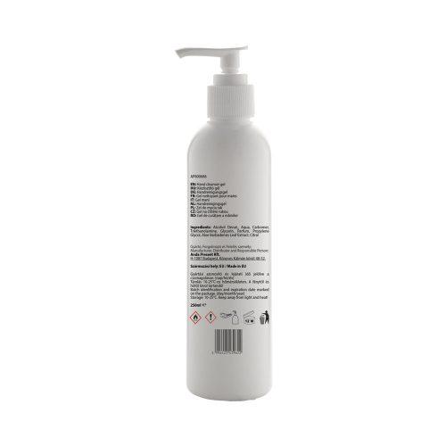 PUMPY čistiaci gél na ruky, 250 ml