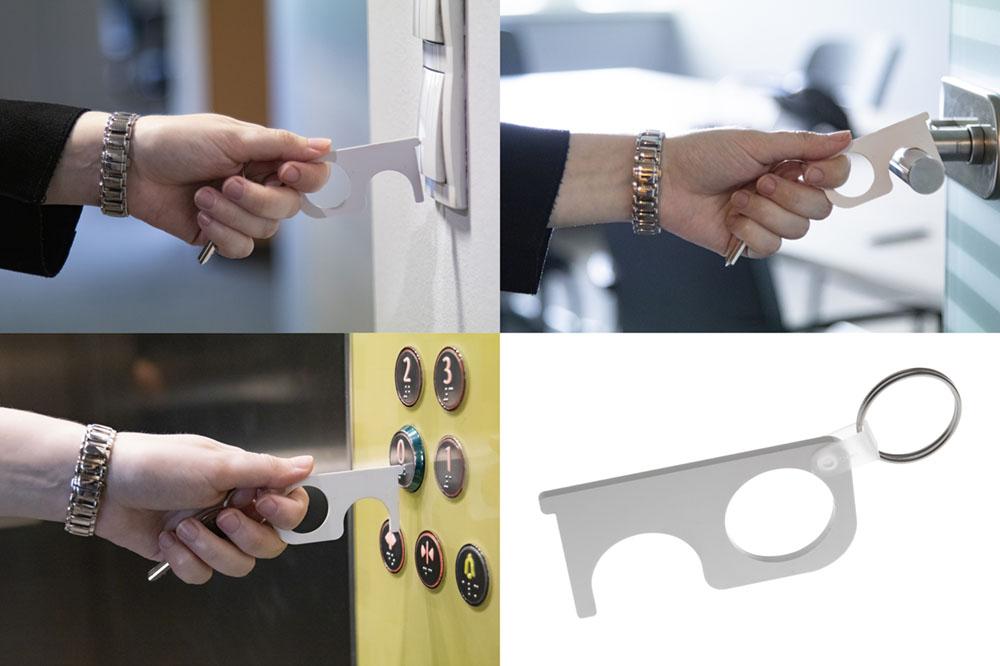 hygienický kľúč NOTOUCH