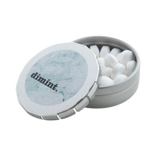 mentolové cukríky v kovovej krabičke CLICK