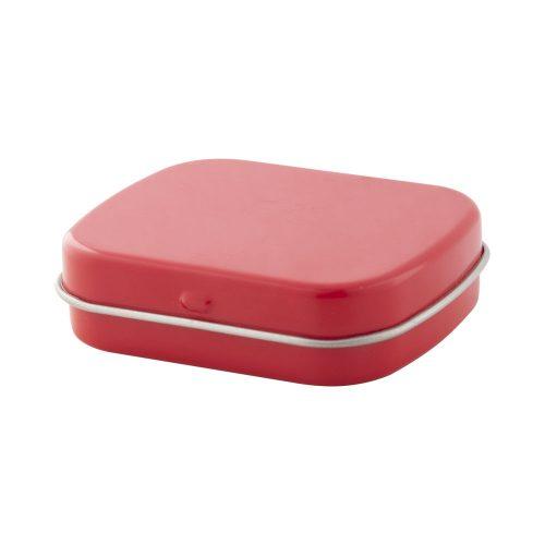 krabička s mentolovými cukríkmi FLICKIES červená