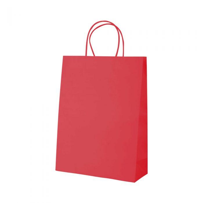 papierová taška MALL červená