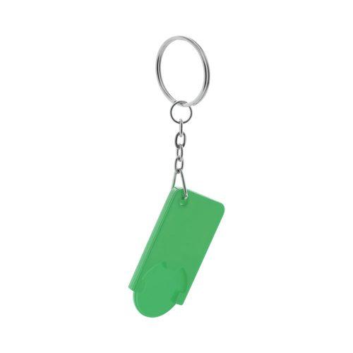 prívesok na kľúče so žetónom BEKA zelený