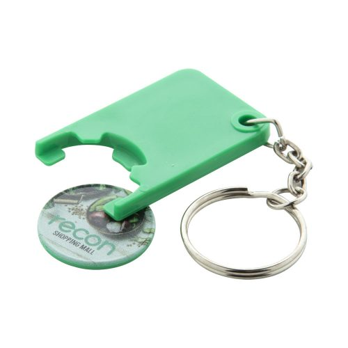 prívesok na kľúče so žetónom BEKA s potlačou