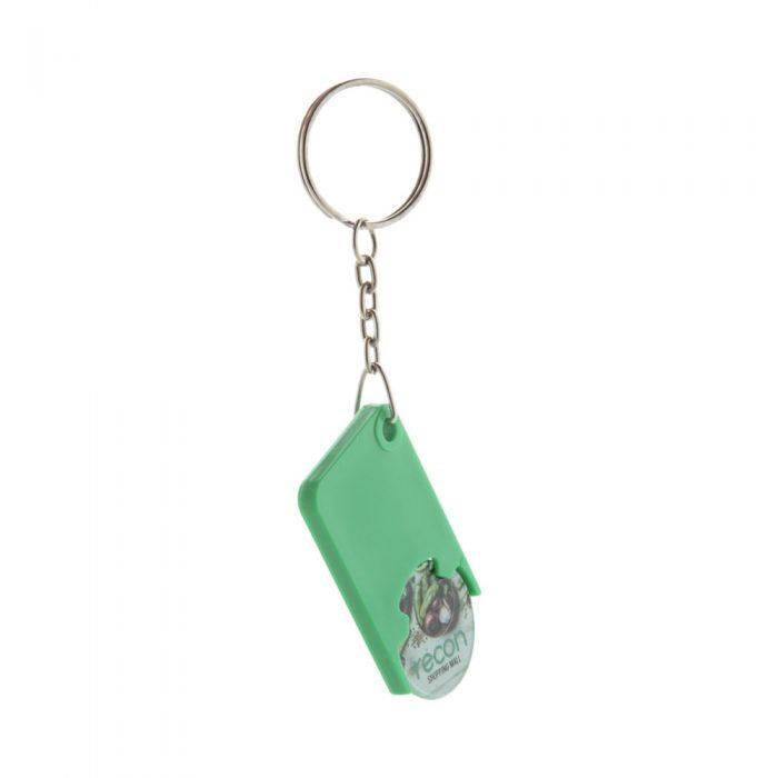 prívesok na kľúče so žetónom s potlačou BEKA