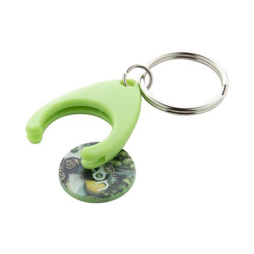 prívesok na kľúče so žetónom NELLY s potlačou