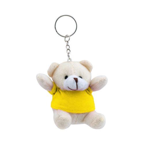 prívesok na kľúče TEDDY žltý