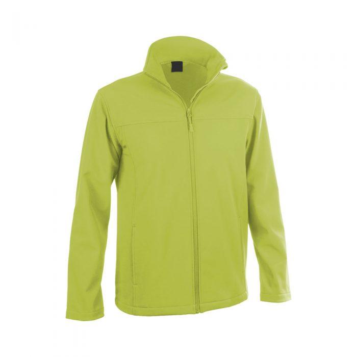 softshellová bunda BAIDOK limetková zelená
