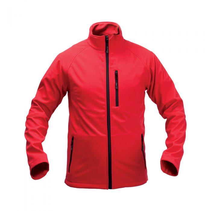 softshellová bunda MOLTER červená