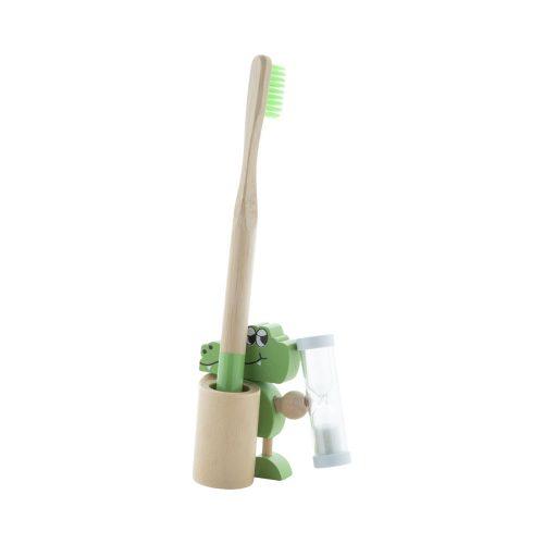 stojan na zubnú kefku CROCKY zelený