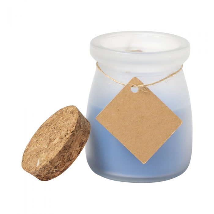 sviečka TEPOR modrá
