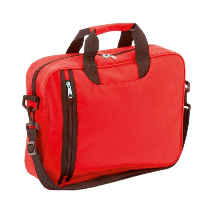taška na dokumenty AMAZON červená