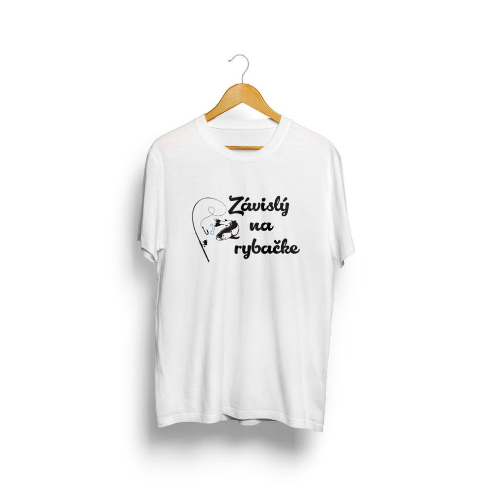 tričko ZÁVISLÝ NA RYBAČKE